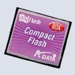 Флеш карта A-Data CompactFlash 1 Gb 80x