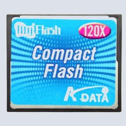 Флеш карта A-Data CompactFlash 4 Gb 120x