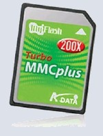Флеш карта A-DATA MMC+ 256 Mb (200x)