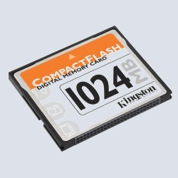 Флеш карта Kingston CompactFlash 1 Gb