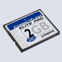 Флеш карта Kingston CompactFlash 2 Gb 50x