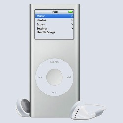 MP3 плеер Apple iPod nano 2 Gb Silver MA477ZT/A