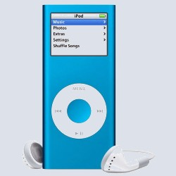 MP3 плеер Apple iPod nano 4 Gb Blue MA428ZT/A
