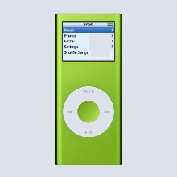 MP3 плеер Apple iPod nano 4 Gb Green MA487ZT/A