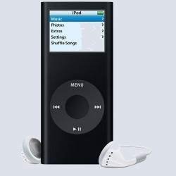 MP3 плеер Apple iPod nano 8 Gb Black MA497ZT/A