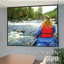 "Экран Draper Access/Series E 234/92"" 114x203 MW"